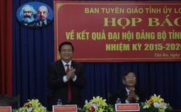 Ông Phạm Văn Rạnh làm bí thư Tỉnh ủy Long An