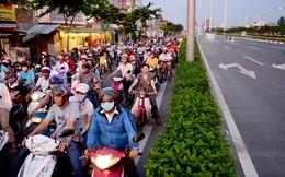 Cảnh đối lập trên tuyến đường đẹp nhất Sài Gòn
