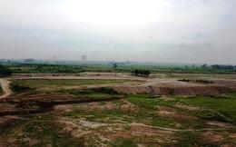 Hà Nội yêu cầu dừng ngay việc san lấp mặt bằng ở bãi giữa sông Hồng