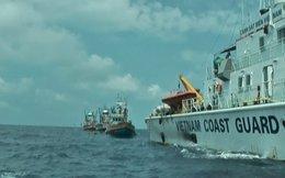 Áp giải 3 tàu cá Thái Lan ra khỏi vùng biển Việt Nam
