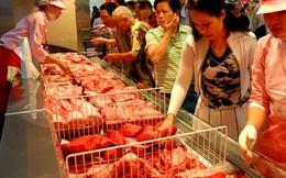 Thịt ngoại giá rẻ tràn ngập thị trường