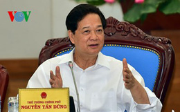Thủ tướng Nguyễn Tấn Dũng yêu cầu quản lý chặt chẽ vốn đầu tư công