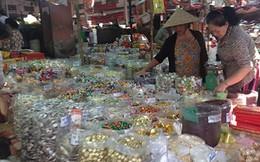 Chợ tết: Giá đã tăng
