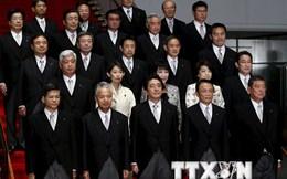Nhiều thành viên nội các mới của Nhật Bản bị dính vào bê bối
