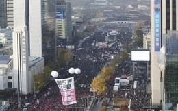 """Hàn Quốc: """"1 triệu người"""" biểu tình đòi tổng thống từ chức"""