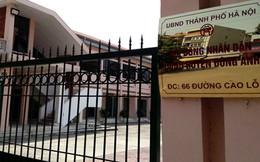 Thanh tra Sở KH&ĐT làm việc với ban QLDA huyện Đông Anh về việc không bán hồ sơ mời thầu