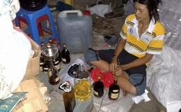Phá điểm sản xuất rượu ngoại bằng nước màu kho cá