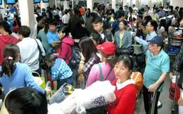 Hàng không tăng chuyến, sân bay lo quá tải!