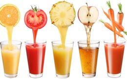 9 nước ép rau củ giúp thanh lọc, giảm cân