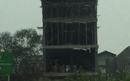 Một đại công trình sai phép vẫn đang gấp rút hoàn thành ở xã Bát Tràng?