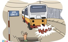 Hí họa: 'Ma trận tên đường' ở TP.HCM
