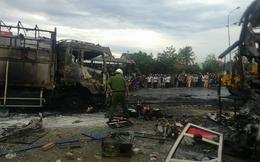 Xe khách đối đầu ở Bình Thuận: Khẩn trương giải quyết hậu quả