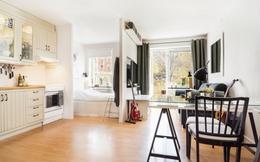 Ngắm những căn hộ 30m² tuyệt đẹp có hiên nhà đầy nắng