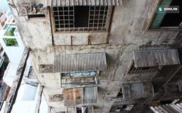 Cận cảnh chung cư 727 chờ sập giữa trung tâm TP.HCM