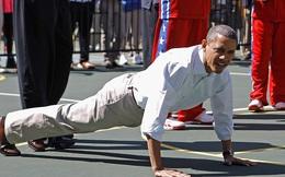 """Tổng thống Barack Obama: """"Bật dậy khỏi giường và tập thể dục buổi sáng đi!"""""""