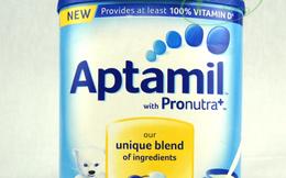 Kiểm tra thông tin sữa bột Aptamil Trung Quốc có côn trùng