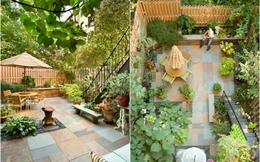17 ý tưởng tuyệt vời thiết kế góc sân xanh trong nhà