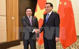 Phó Thủ tướng Phạm Bình Minh hội kiến Thủ tướng Trung Quốc