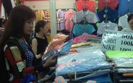 'Hàng hiệu' siêu rẻ tràn vào chợ tết