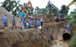 Hà Nội: Đường ống Sông Đà lại gặp sự cố lần thứ 20
