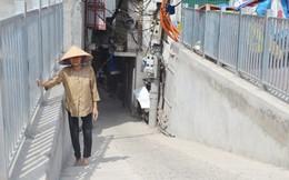 Vì sao nhà dân thấp hơn mặt đường tuyến Ô Đông Mác - Nguyễn Khoái?