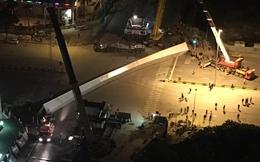 Tổng công ty Thăng Long lý giải nguyên nhân rơi dầm thép khổng lồ giữa đêm