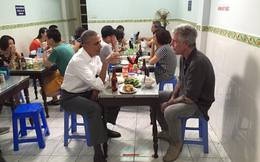 Báo Anh đăng video ông Obama thưởng thức bún chả ở Hà Nội