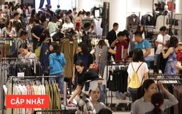 Người Sài Gòn - Hà Nội đổ xô đến các Trung tâm thương mại để săn hàng giảm giá khủng trong ngày Black Friday