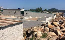 Đua nhau xây nhà trái phép trên đất dự án cảng container