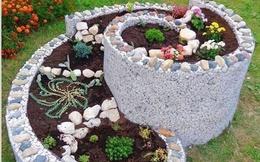 Vẻ đẹp hút mắt của sân vườn trang trí bằng đá
