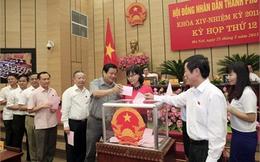 Hà Nội bầu 3 Phó chủ tịch thành phố