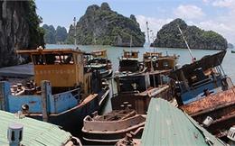 Bãi tàu 'ma' giữa vịnh Hạ Long