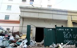 Tầng 1 chung cư nứt toác, hàng trăm hộ dân bất an