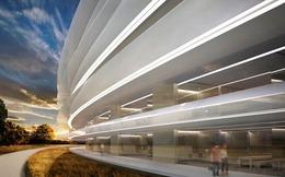 Cận cảnh nội thất tòa nhà phi thuyền sắp hoàn thành của Apple