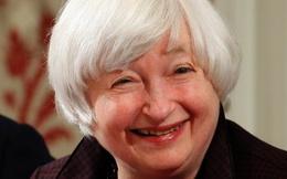Chứng khoán tăng điểm mạnh nhờ bà Yellen