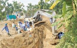 Dự án nước sạch sông Đà số 2: Dừng ký hợp đồng mua ống gang