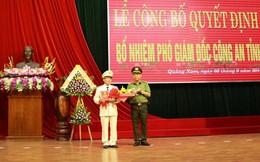 Quảng Nam có Phó Giám đốc công an mới