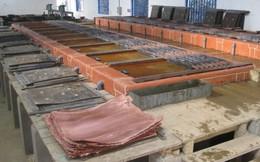 Khoáng sản Á Cường bị kiểm tra toàn diện vì xả thải không qua xử lý ra sông Cẩm Đàn