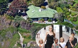 Toàn cảnh căn biệt thự xa hoa Angelina Jolie cùng các con ở sau khi ly hôn