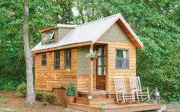 Chán cảnh sống ồn ào, cặp vợ chồng trẻ dựng căn nhà gỗ tuyệt đẹp giữa rừng