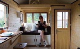Chán cảnh thuê trọ, cô gái trẻ tự tay làm căn nhà gỗ đẹp như mơ