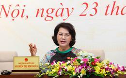 """Chủ tịch Quốc hội: """"Tôi sẽ gặp ông Võ Kim Cự để nhắc nhở phải tiếp xúc, thông tin cho báo chí"""""""