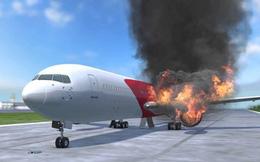 Nguyên tắc thoát hiểm sống còn khi máy bay bốc cháy