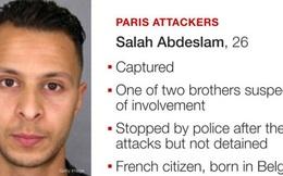 Bắt nghi phạm chủ mưu vụ khủng bố Paris