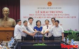 Bộ VHTTDL là một trong những Bộ đầu tiên vận hành hệ thống dịch vụ công trực tuyến mức độ 3