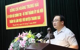 """Bí thư Hà Nội: """"Thắt lưng buộc bụng"""" cũng phải đầu tư cho hạ tầng"""