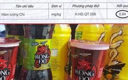 """URC Việt Nam nói gì về kết quả kiểm nghiệm """"nhiễm độc chì"""" trong chai C2?"""