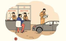Đăng ký, cấp biển số ôtô qua mạng như thế nào?