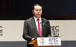 Chủ tịch nước Trần Đại Quang: Sớm đưa Hiệp định TPP vào thực thi