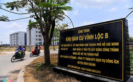 Khu tái định cư 2.000 căn đìu hiu nhất Sài Gòn